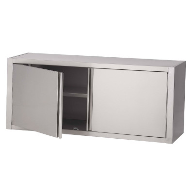 Open wandkast inox 304 / 316 met draaideuren