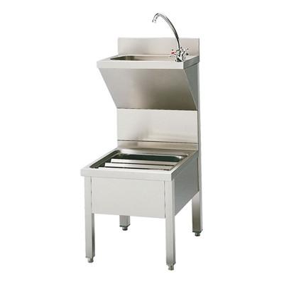 Handenwasbak spoelbak combinatie vrijstaand