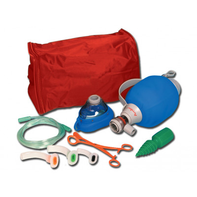 AMBU MARK IV RESUSCITATOR - adult with kit bag
