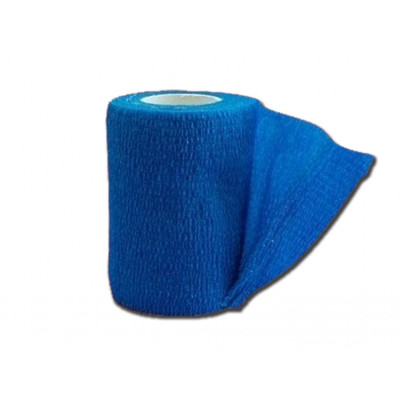 COHESIVE NON WOVEN ELASIC BANDAGES - blue