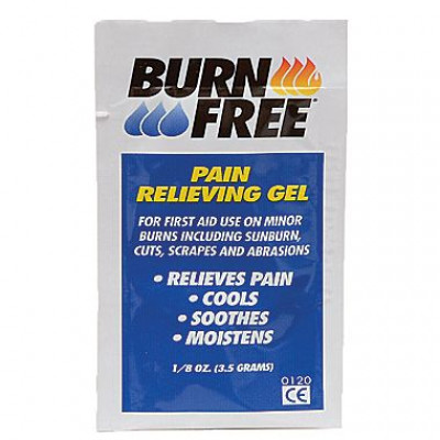 BURNFREE PAIN RELIEVING GEL 3.5 g packs