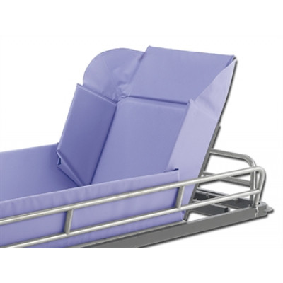 EVOLUTION SHOWER TROLLEY - with tilt head section - hydraulic