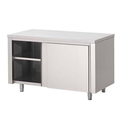 Werktafel budget 600 diep met schuifdeuren