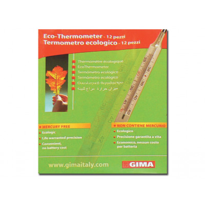 GIMA NEW ECOLOGICAL THERMOMETER