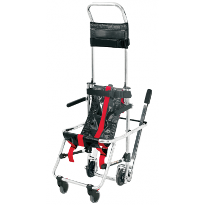 SKID EVACUATION CHAIR with braking slide system