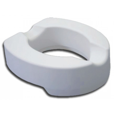 SOFT RAISED TOILET SEAT 10 cm