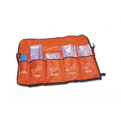 FIRST AID AIR CUSHION SPLINTS set of 4 pcs.