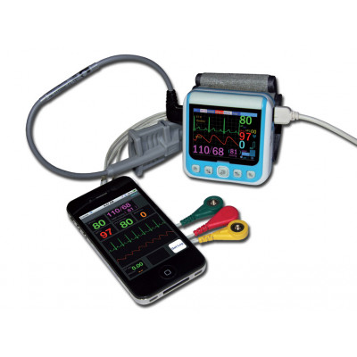 WRIST PATIENT MONITOR with bluetooth