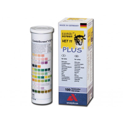 Veterinaire urine strips - 11 parameters