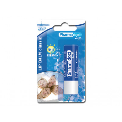 PHARMADOCT LIP BALM CLASSIC carton of 12 boxes