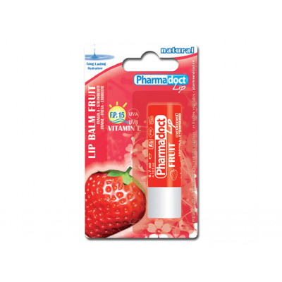 PHARMADOCT LIP BALM STRAWBERRY carton of 12 boxes