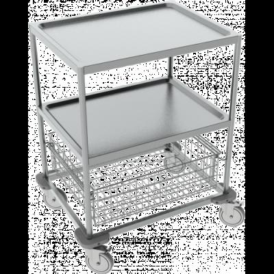 Instrumentenwagen 304 rvs 80x63x98h cm