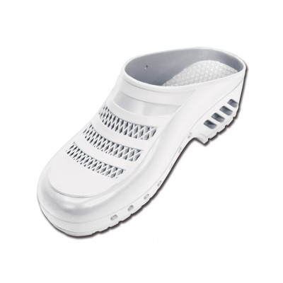 GIMA PROFESSIONAL CLOGS with pores - white