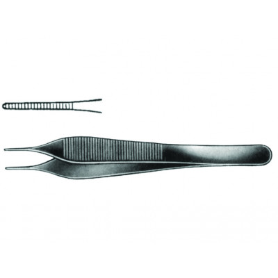 MICRO ADSON FORCEPS 12 cm 1x2 teeth
