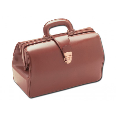 TEXAS LEATHER MEDICAL BAG chestnut