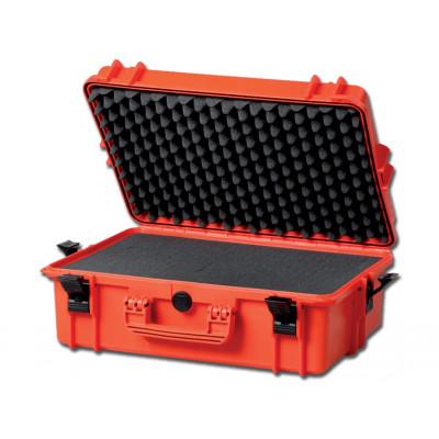GIMA CASE 500 with interal foam orange