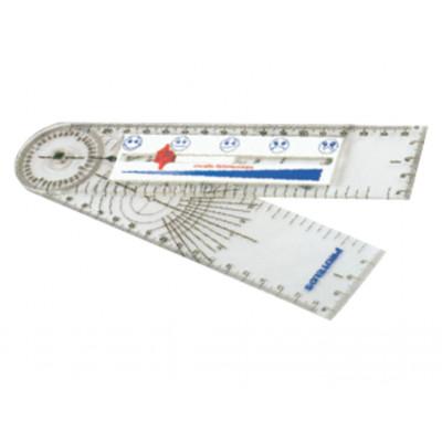 GONIOMETER WITH PAIN SCALE RULER
