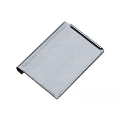 INOX RECORD HOLDER (voor papier 34x23 cm) met plexiglass