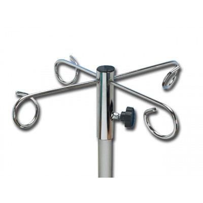 Metalen steun met 4 haken