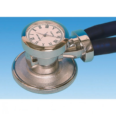 RAPPAPORT STETHOSCOPE blue (with clock)
