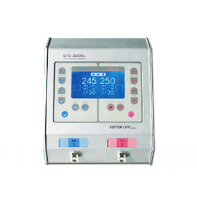 DTS 2000S DIGITAL PNEUMATIC TOURNIQUET - 2 channels for 2 single cuff or 1 double cuff use