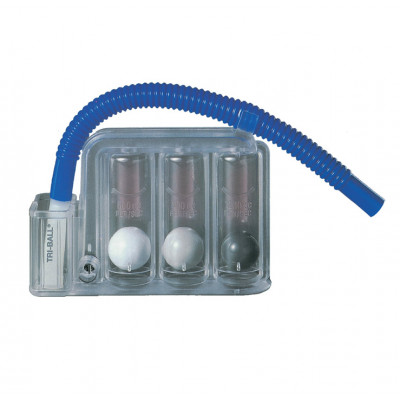TRI BALL RESPIRATORY EXERCISER