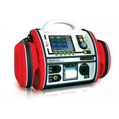 RESCUE LIFE AED DEFIBRILLATOR - with SpO2