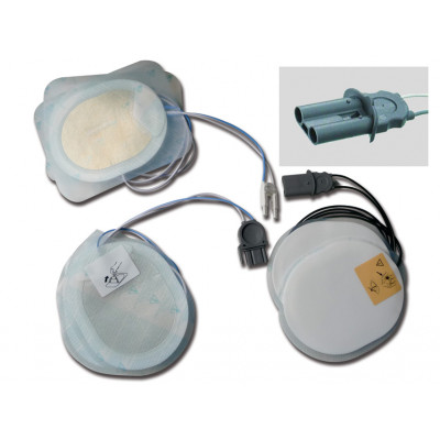 DISPOSABLE PAD - compatible for AGILENT/PHILIPS defibrillators