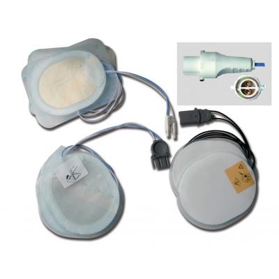 DISPOSABLE PAD - compatible for AGILENT/HP/LAERDAL defibrillators