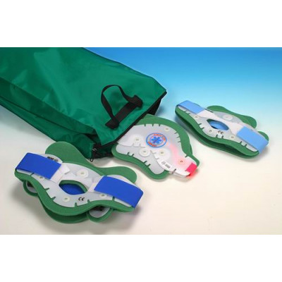 TWO PIECES FIRST AID COLLAR - set of 6 collars with bag