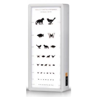 ANIMALS OPTOMETRIC CHART 5.5 m not illuminated
