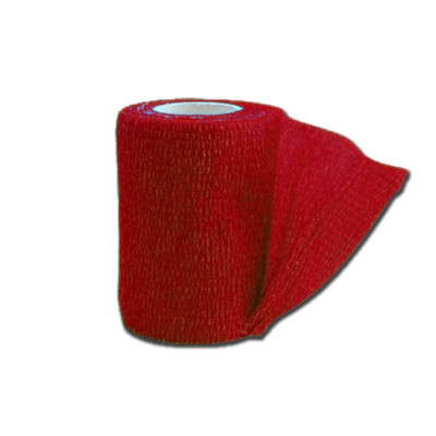 COHESIVE NON WOVEN ELASIC BANDAGES - red