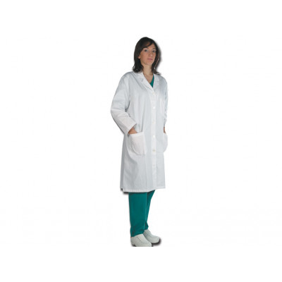 DOCTOR'S WHITE COAT 100% COTTON women