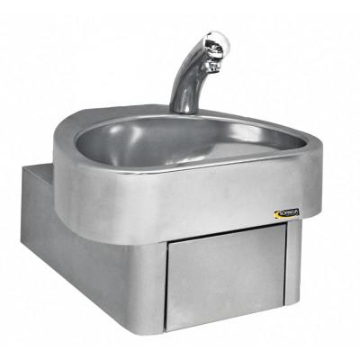 Hygienische handenwasbak met sensorkraan