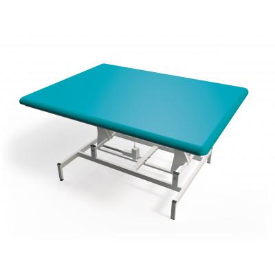 Elektrisch in hoogte verstelbare massagetafel met 1 sectie