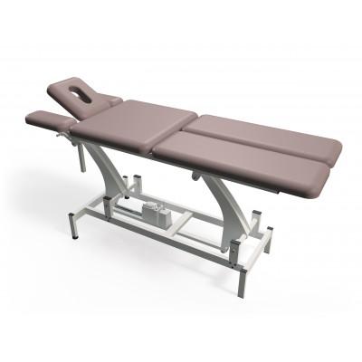 Elektrisch in hoogte verstelbare massagetafel met 6 secties