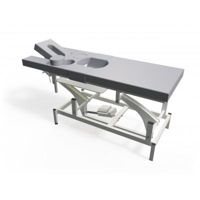 Elektrische massagetafel voor zwangere vrouwen