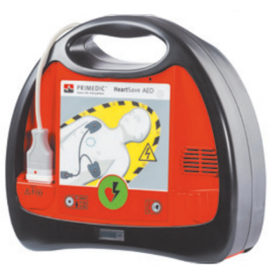 Primedic heart save aed (defibrillator with lithium battery)