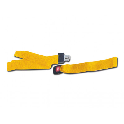 SET OF 3 BELTS - D - yellow