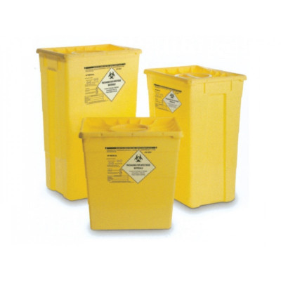 WASTE CONTAINER - double lid